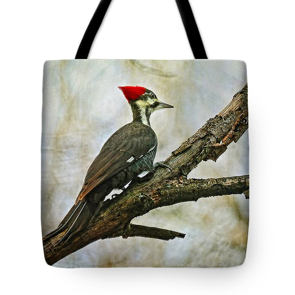 Who's There Tote Bag by Lois Bryan