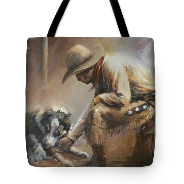 Who's Your Daddy Tote Bag by Mia DeLode