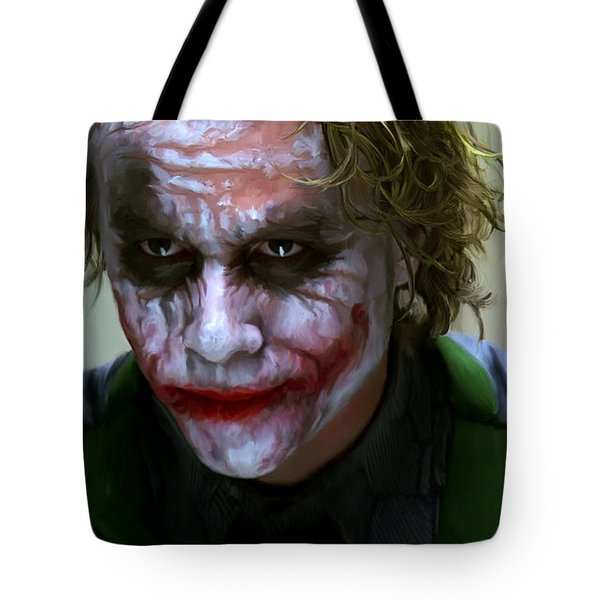 Why So Serious Tote Bag by Paul Tagliamonte