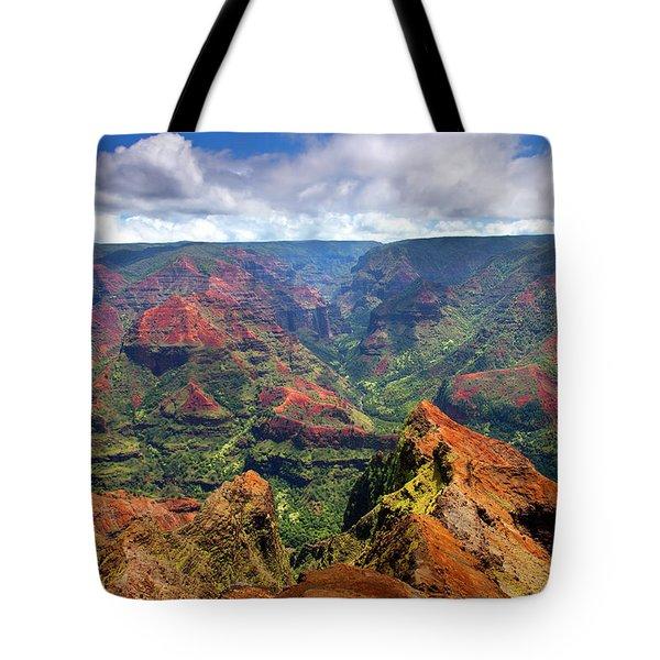 Wiamea View Tote Bag by Mike  Dawson