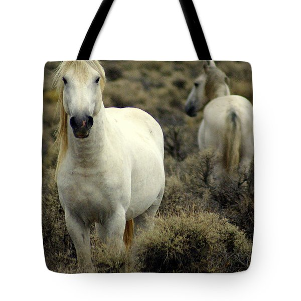 Wild Stallion Tote Bag by Marty Koch