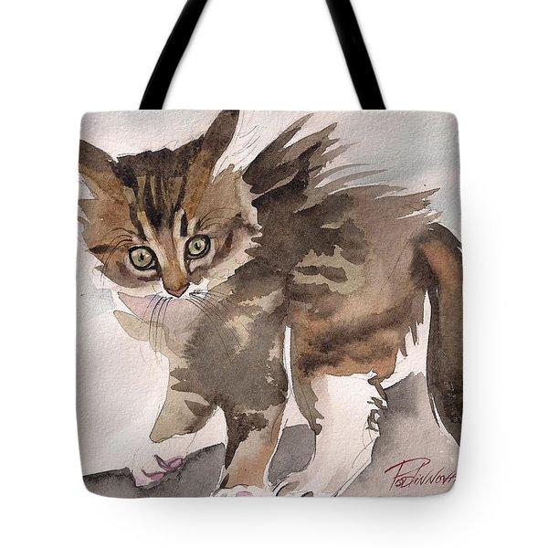 Wild Thing Tote Bag by Yuliya Podlinnova