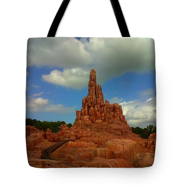 Wildest Ride Tote Bag by Rachel E Moniz