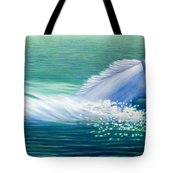 Will Power Tote Bag by Brian  Commerford