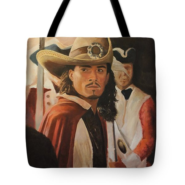Will Turner Tote Bag by Caleb Thomas