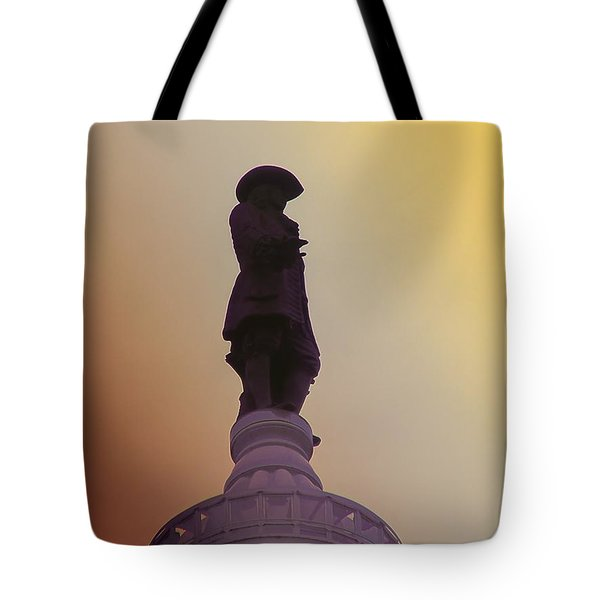 William Penn Tote Bag by Bill Cannon