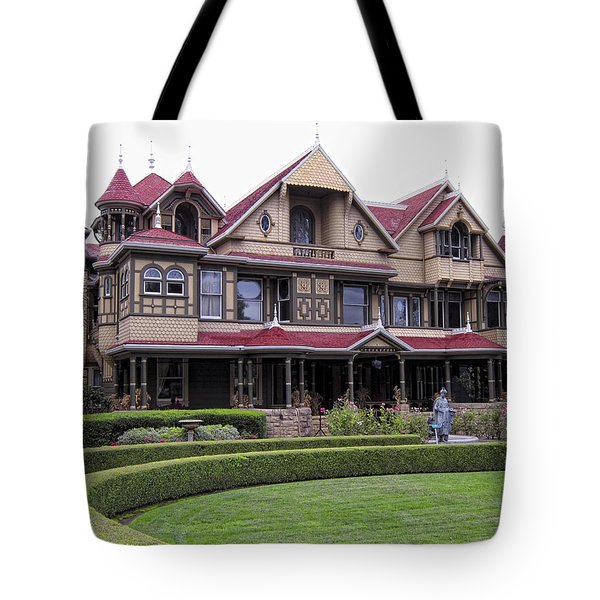 WINCHESTER MYSTERY HOUSE Tote Bag by Daniel Hagerman