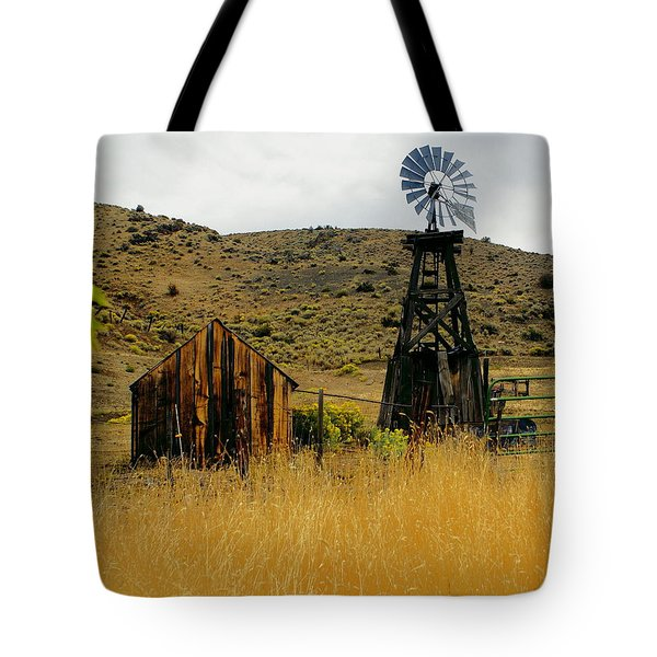 Windmill 2 Tote Bag by Marty Koch