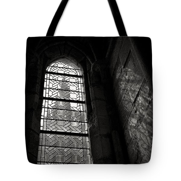 Window To Mont St Michel Tote Bag by Dave Bowman