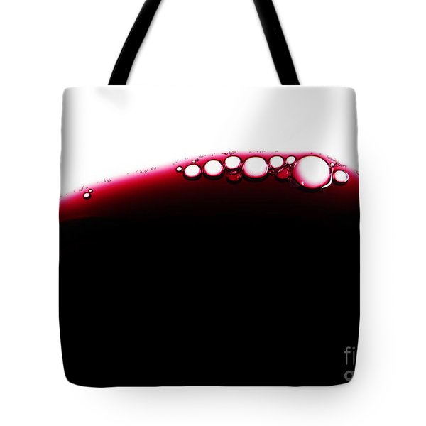 Wine Bubles Tote Bag by Carlos Caetano
