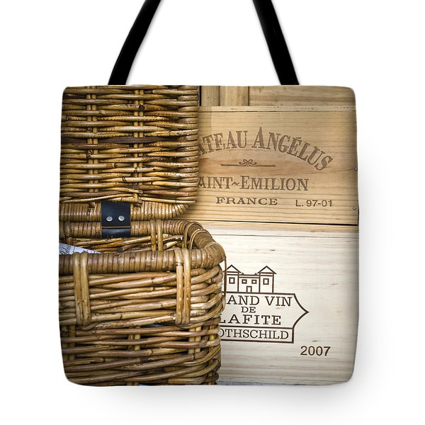Wine Cellar Tote Bag by Frank Tschakert