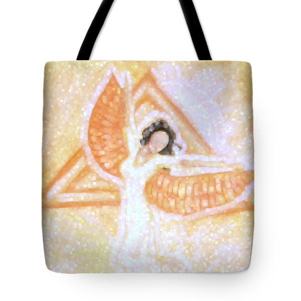 Winged Goddess Tote Bag by Cassandra Geernaert