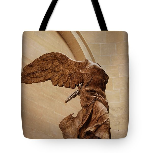 Winged Victory Tote Bag by JAMART Photography