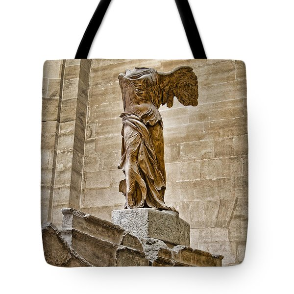 Winged Victory Tote Bag by Jon Berghoff