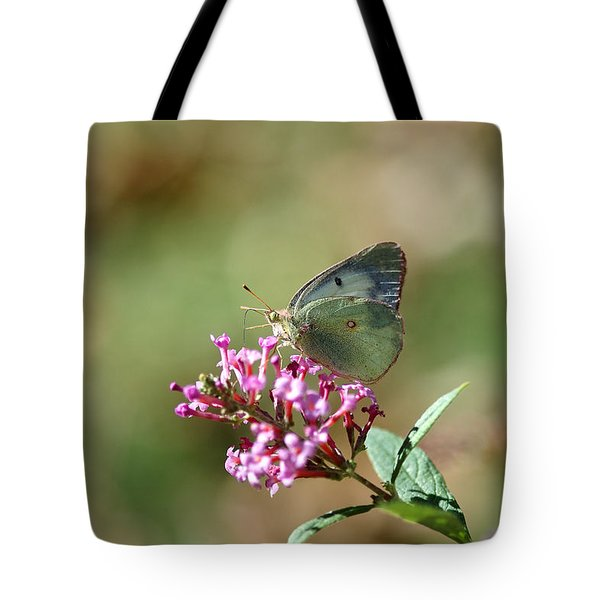 Wings And Petals Tote Bag by Betty LaRue