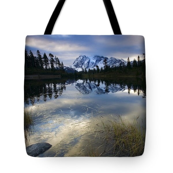 Winter Approaches Tote Bag by Mike  Dawson