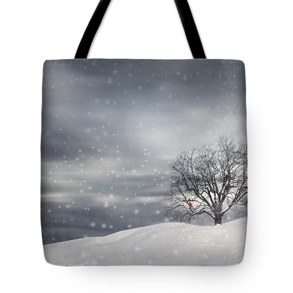Winter Tote Bag by Lourry Legarde