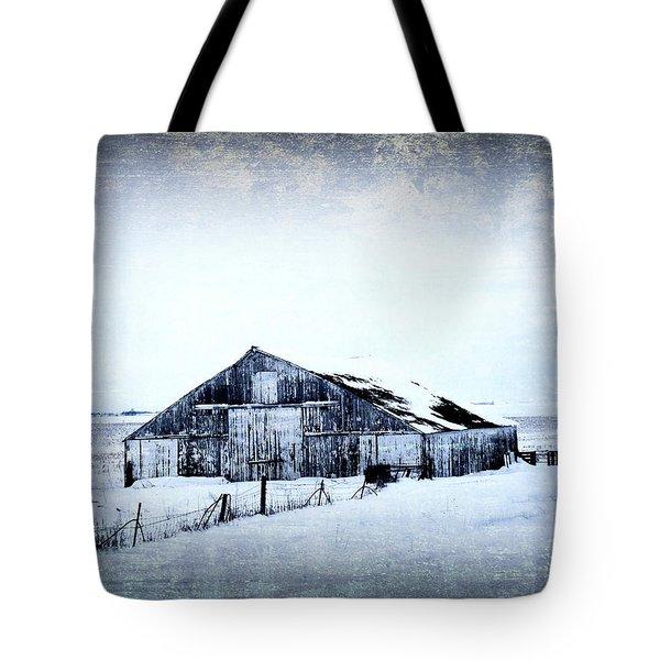 Winter Scene Tote Bag by Julie Hamilton