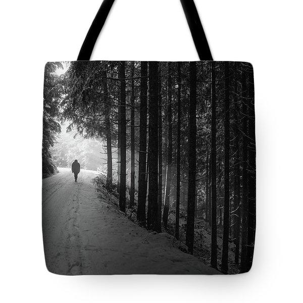 Winter Walk - Austria Tote Bag by Mountain Dreams