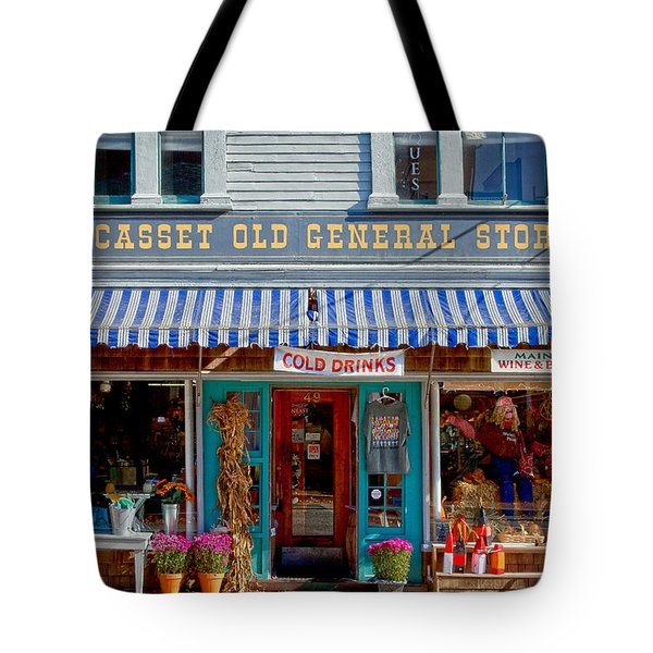 Wiscasset General Tote Bag by Susan Cole Kelly