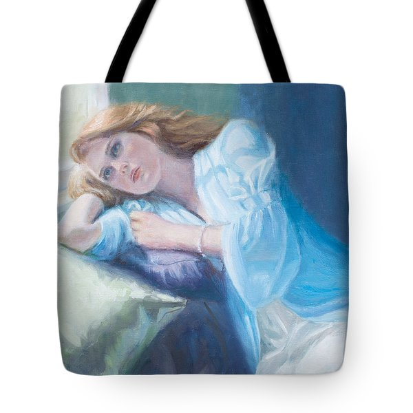 Wistful Tote Bag by Sarah Parks