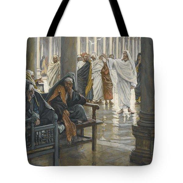 Woe Unto You Tote Bag by Tissot