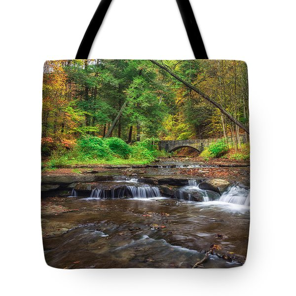 Wolf Creek Tote Bag by Mark Papke