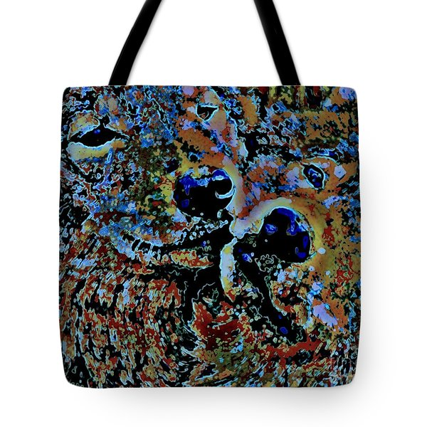 Wolf Love Tote Bag by WBK