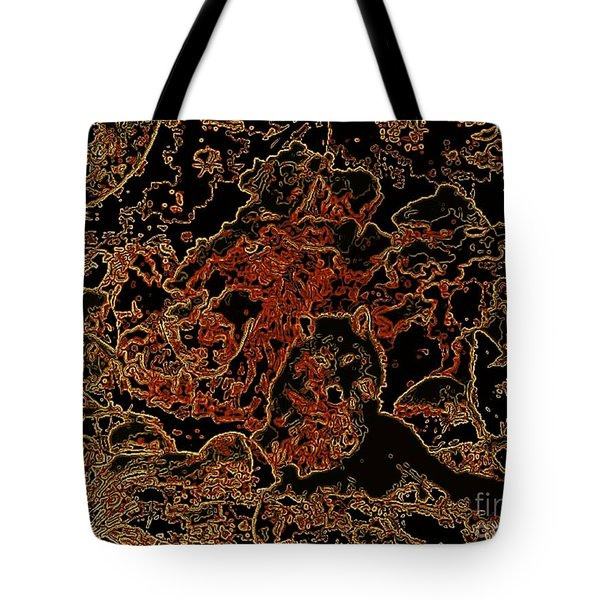 Wolf Tapestry Tote Bag by WBK