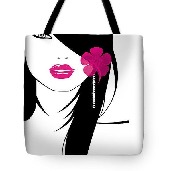 Woman 6 Tote Bag by Cheryl Young