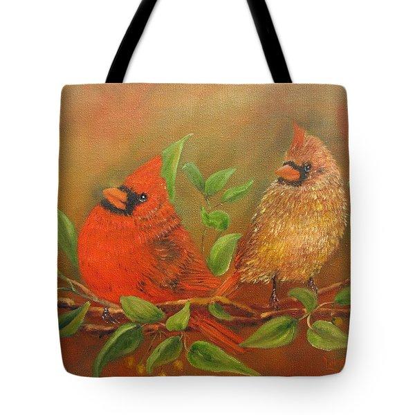 Woodland Royalty Tote Bag by Loretta Luglio
