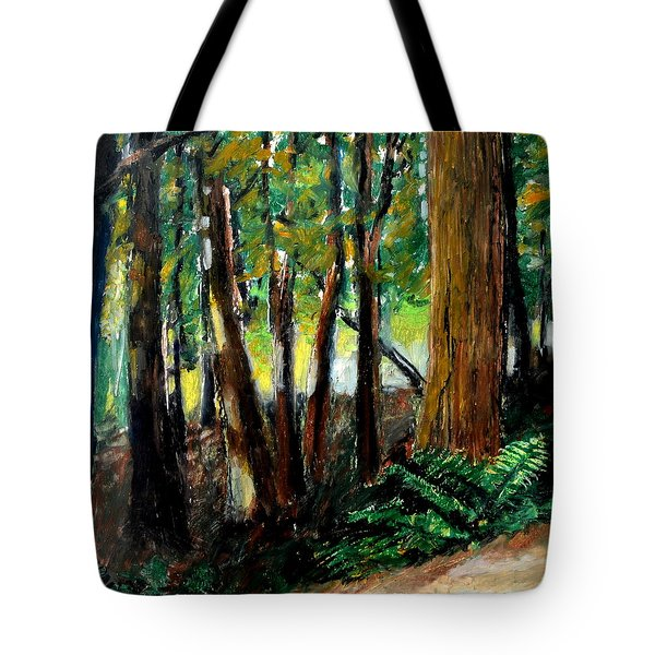 Woodland Trail Tote Bag by Michelle Calkins