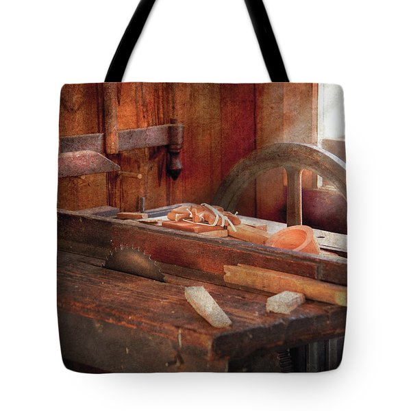 Woodworker - The Table Saw Tote Bag by Mike Savad