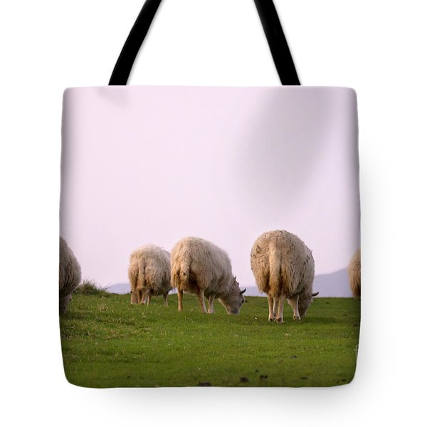 Wooly Bottoms Tote Bag by Angel  Tarantella