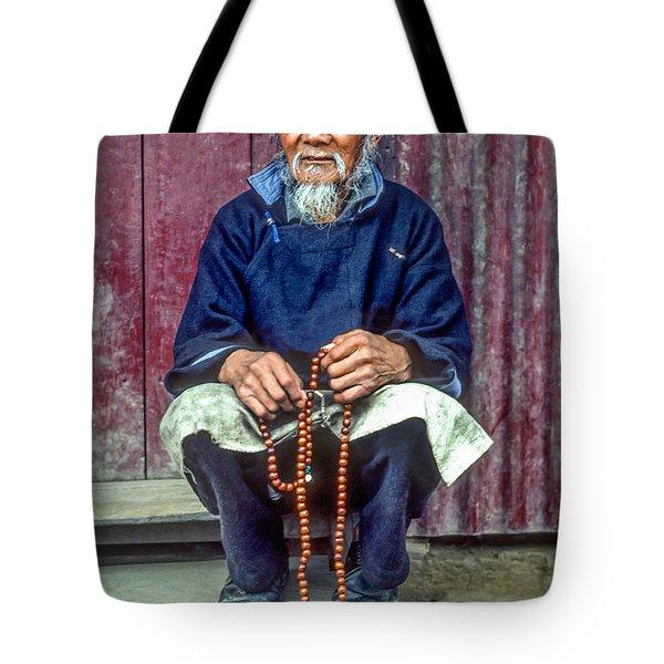 Working Hands Tote Bag by Steve Harrington
