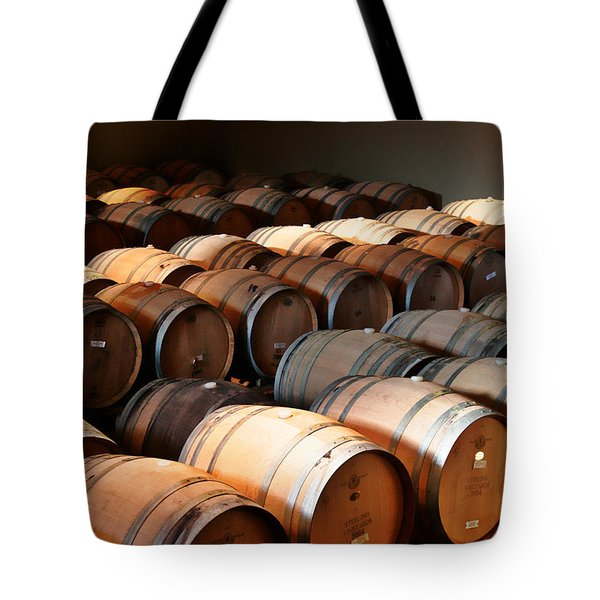 World-class Wine Is Made In California Tote Bag by Christine Till