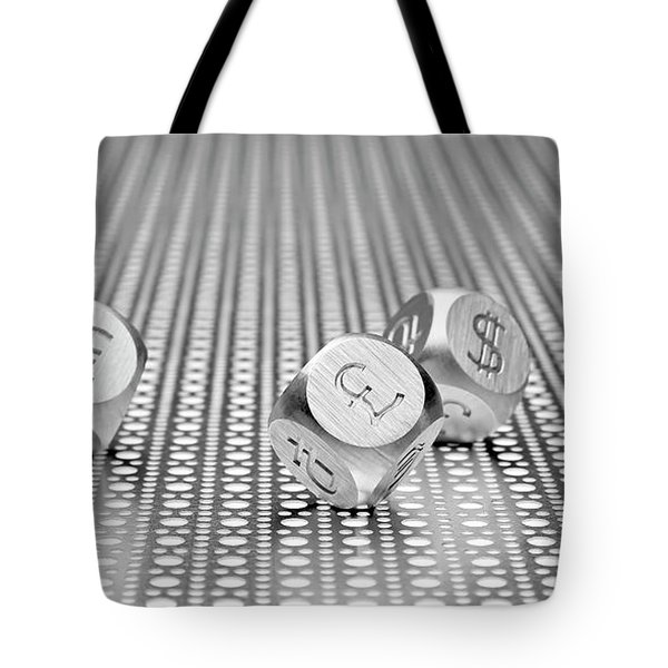 World Currencies 1 Tote Bag by Tom Mc Nemar