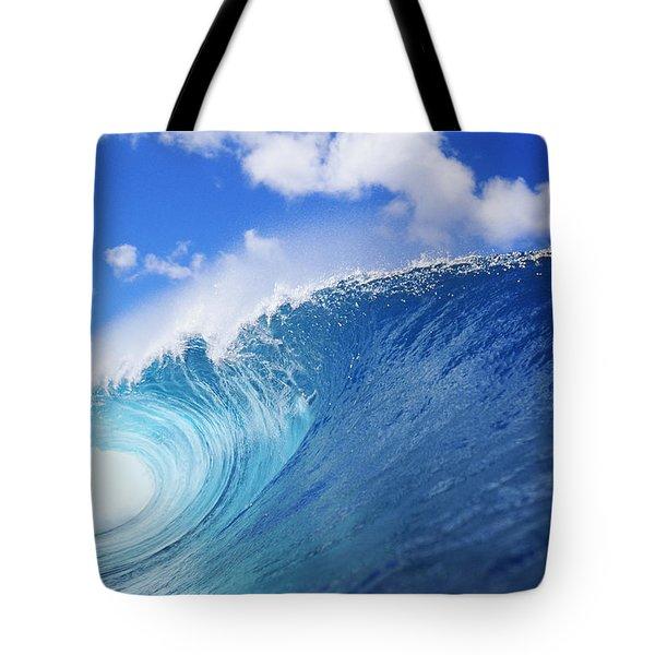 World Famous Pipeline Tote Bag by Vince Cavataio - Printscapes