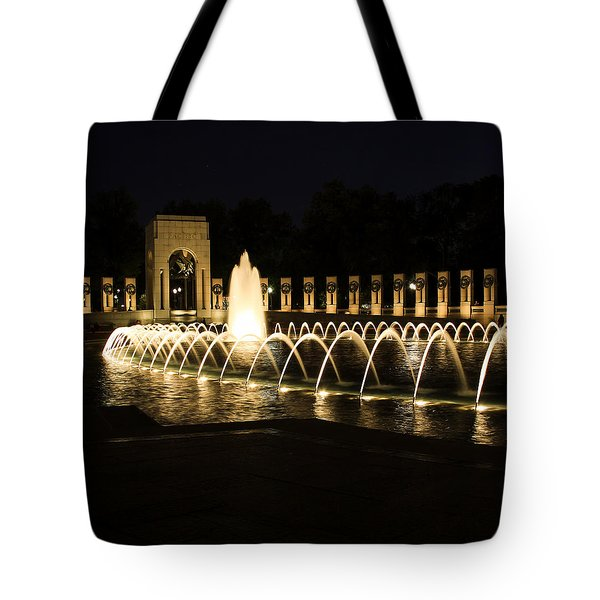 World War Memorial Tote Bag by Kim Hojnacki