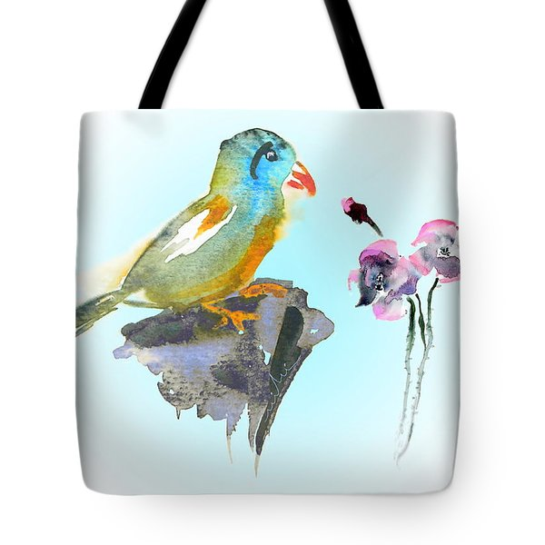 Would You Care To Dance With Me Tote Bag by Miki De Goodaboom