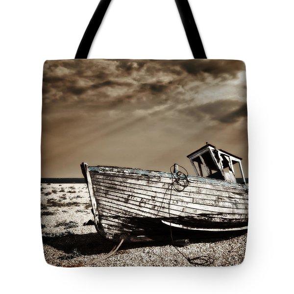 Wrecked Tote Bag by Meirion Matthias