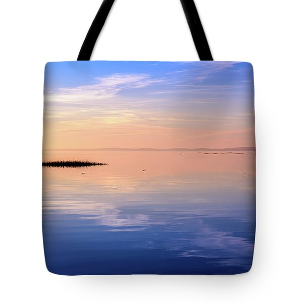 Tote Bag featuring the photograph Xtra Blue by Thierry Bouriat