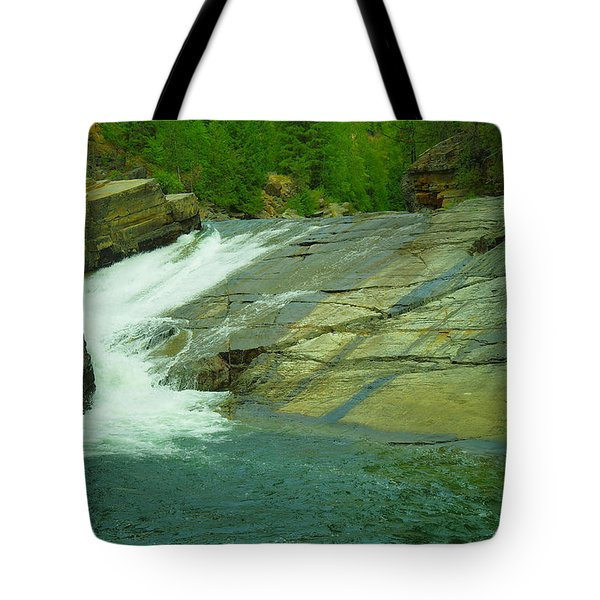 Yak Falls   Tote Bag by Jeff Swan