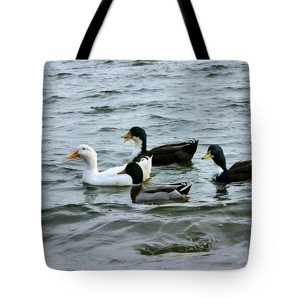 Yak Yak Yak One In Every Crowd Tote Bag by Kristin Elmquist