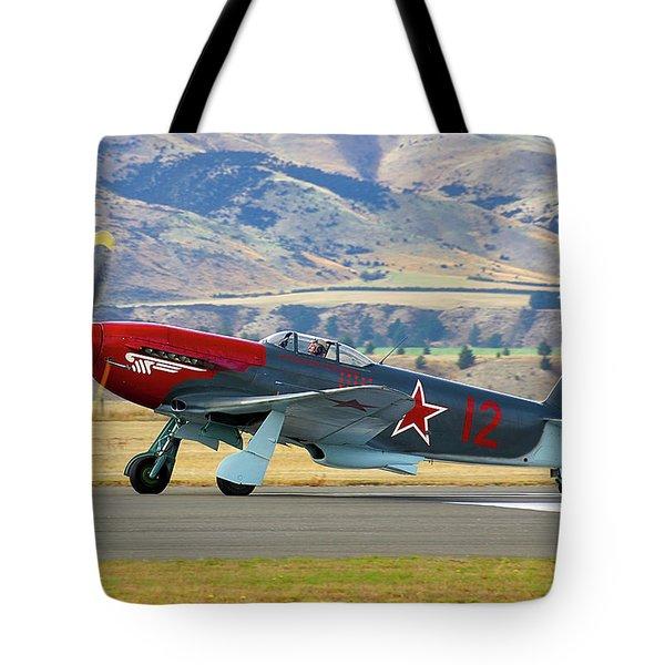 Yakovlev Yak 3-m Tote Bag by Bernard Spragg
