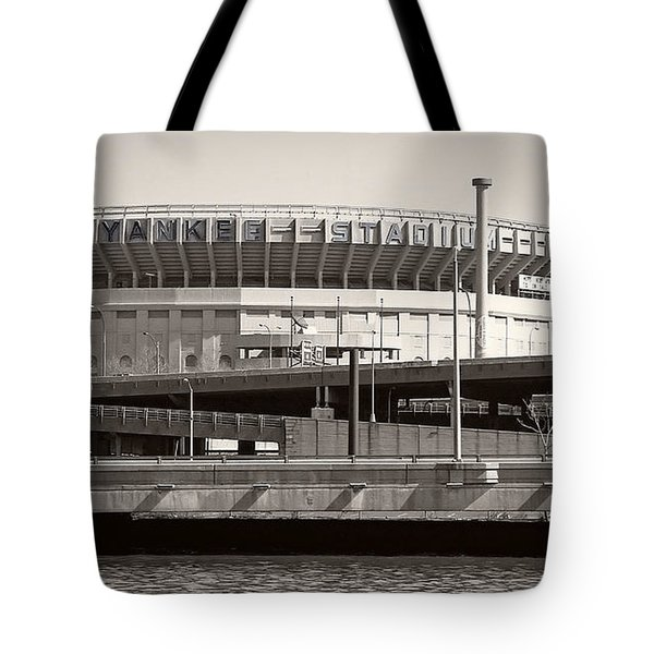 Yankee Stadium    1923  -  2008 Tote Bag by Daniel Hagerman