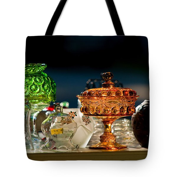 Yard Sale Treasures Tote Bag by Christopher Holmes