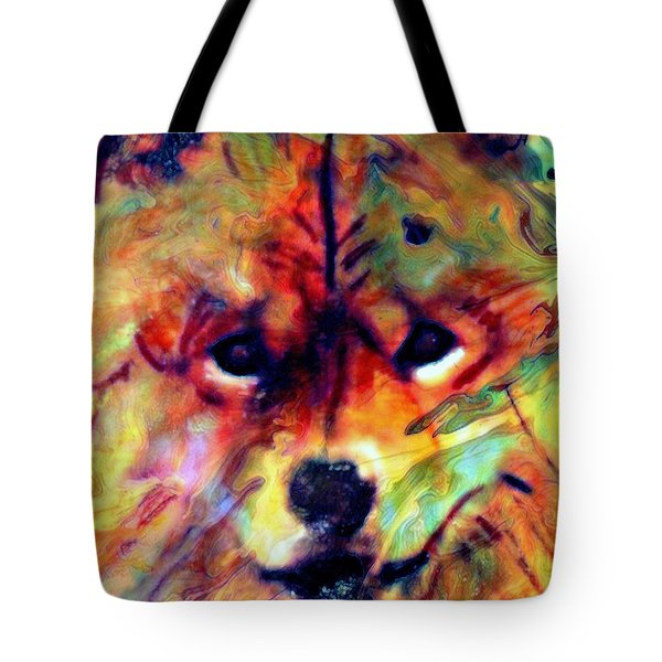 Year Of The Dog Tote Bag by WBK