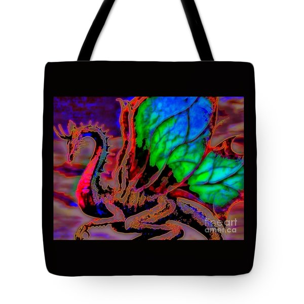 Year Of the Dragon Tote Bag by WBK