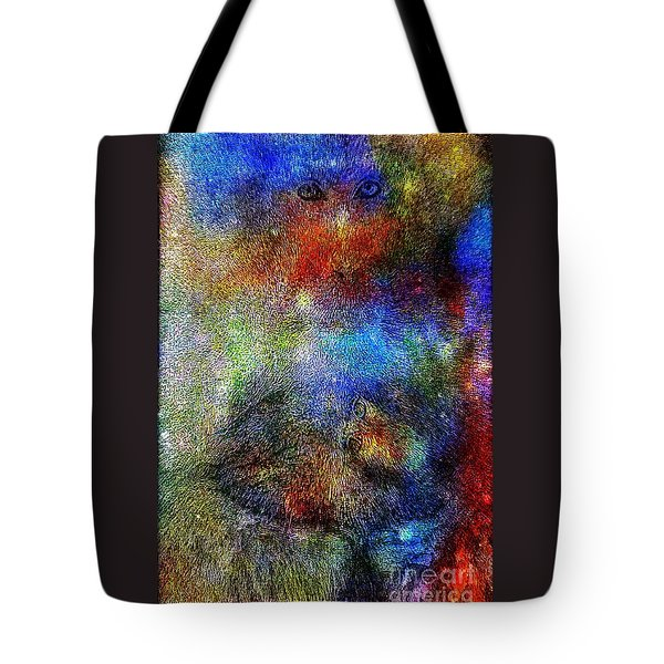Year Of The Monkey Tote Bag by WBK